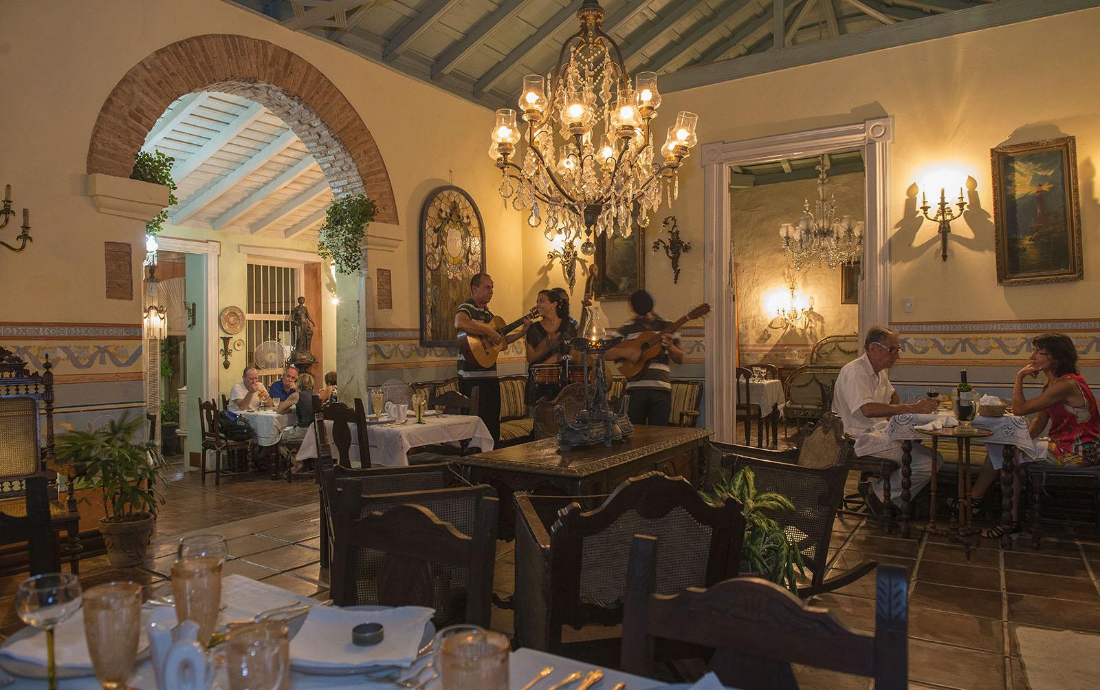 Trinidad, Restaurantes, Comida cubana